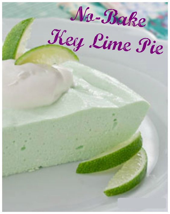 Low Calorie Key Lime Pie  No Bake Key Lime Pie Recipe