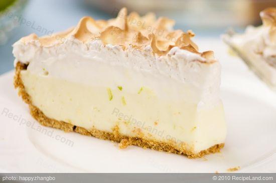 Low Calorie Key Lime Pie  Key Lime Pie Low Fat Recipe