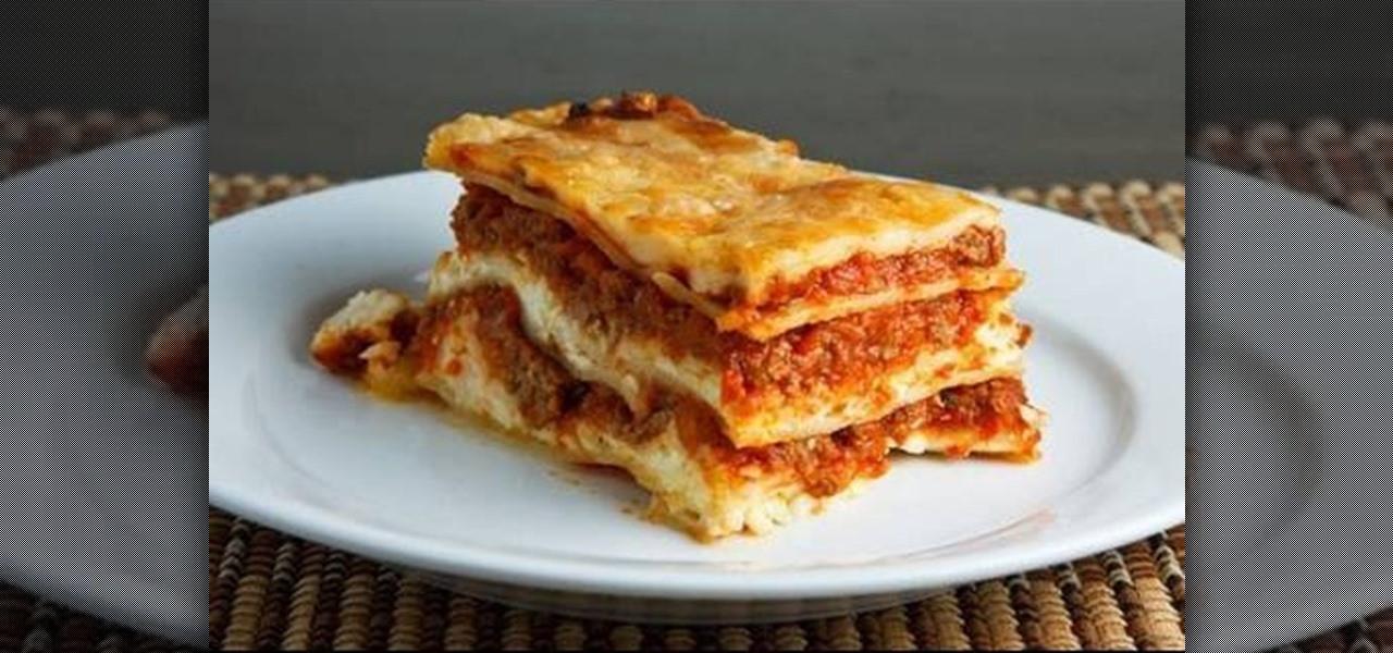 Low Calorie Lasagna  How to How to make delicious low calorie lasagna Pasta