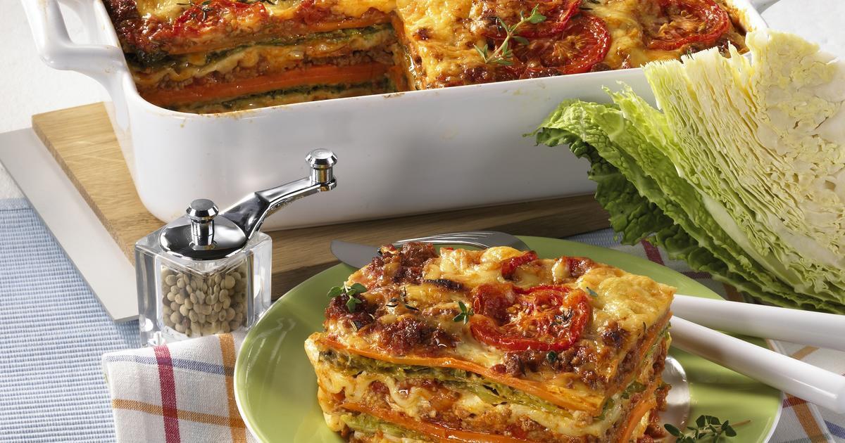 Low Calorie Lasagna  Low calorie lasagne