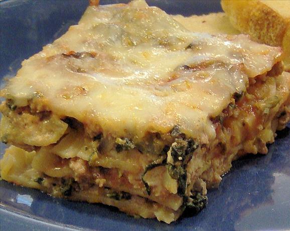 Low Calorie Lasagna  Low Fat Lasagna Recipe Food