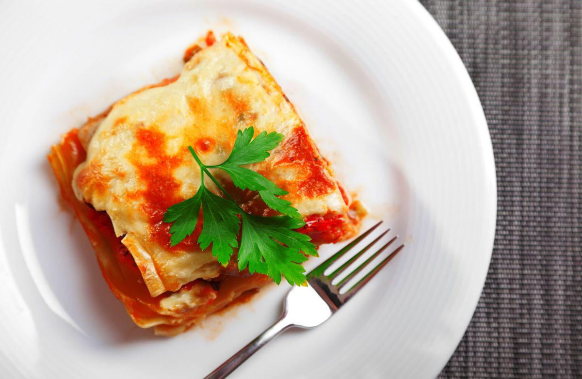 Low Calorie Lasagna  Belize LAND OF THE FREE Low Fat Low Sodium Lasagna
