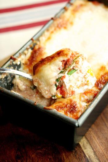 Low Calorie Lasagna  Low Carb Lasagna Skinny Chef