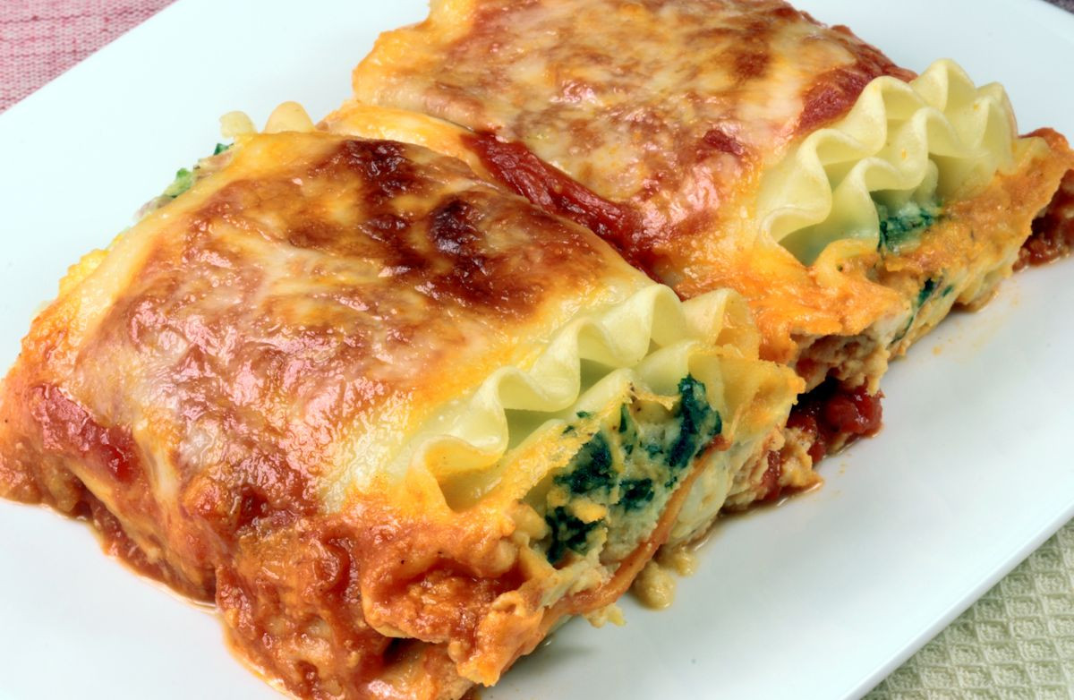 Low Calorie Lasagna  Low Fat Spinach Lasagna Recipe