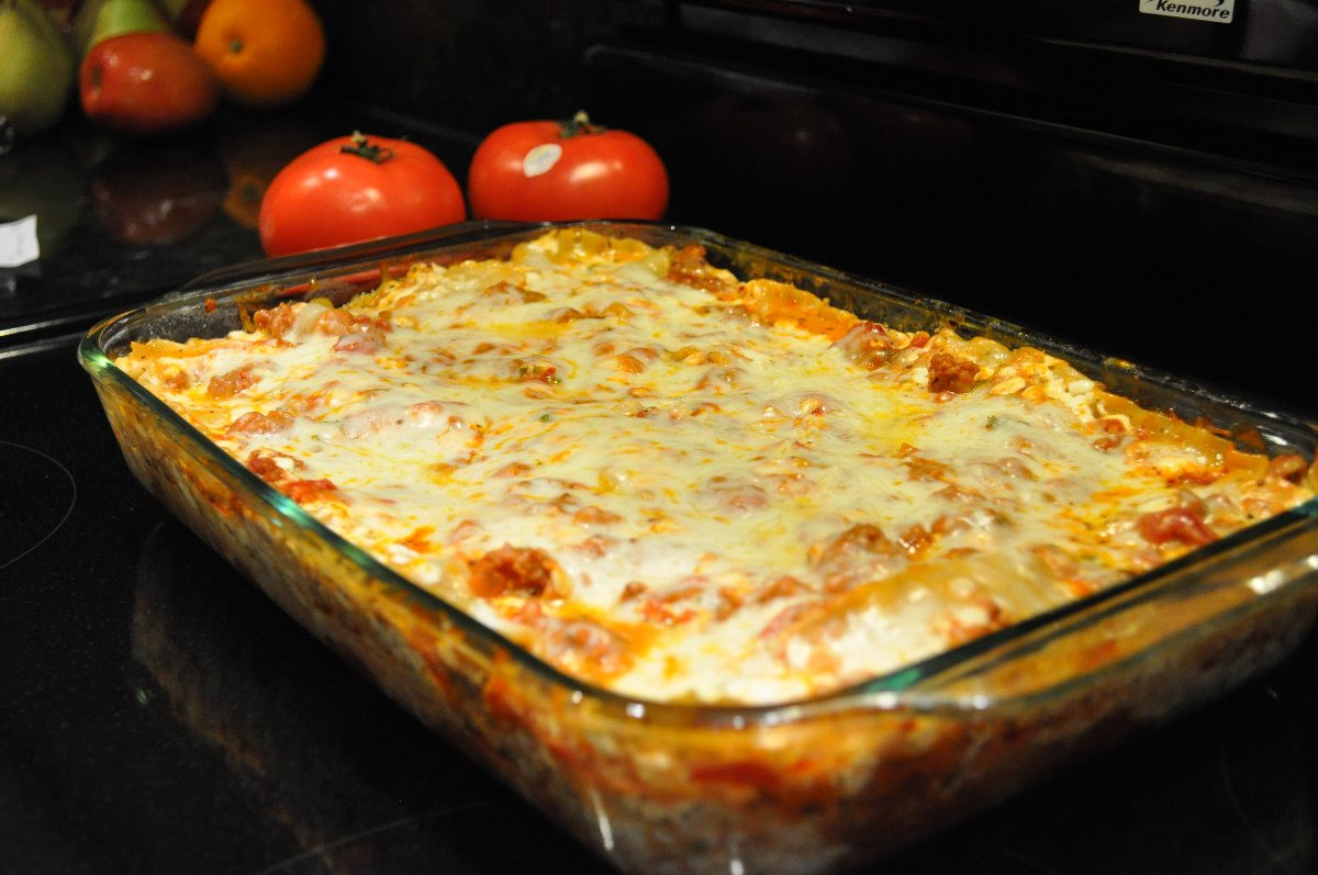 Low Calorie Lasagna  Low fat Lasagna BigOven