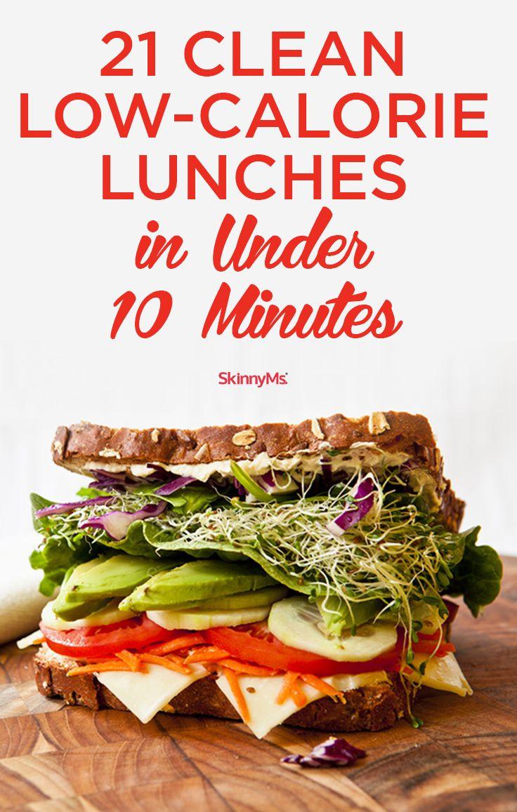 Low Calorie Lunch Recipes  Best 25 Low calorie lunches ideas on Pinterest