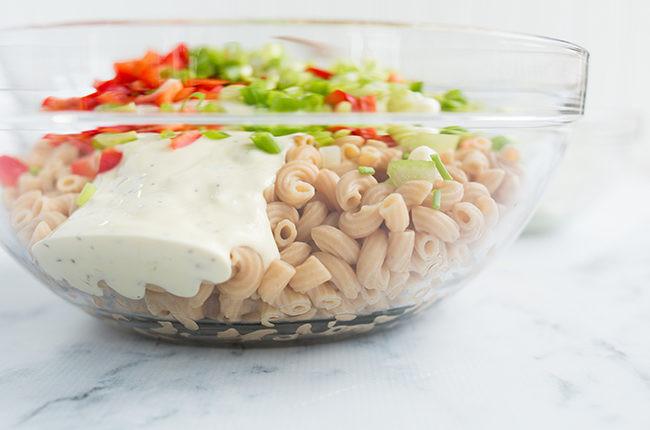 Low Calorie Macaroni Salad Recipe Low Fat Skinny Macaroni Salad