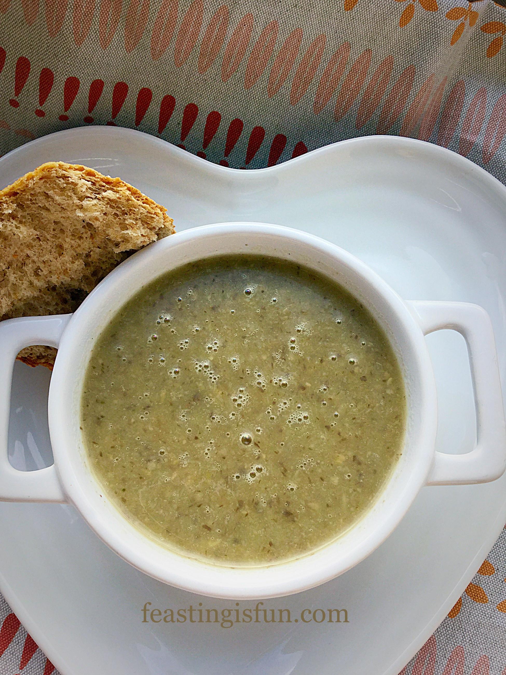 Low Calorie Mushroom Recipes  Low Fat Creamy Mushroom Soup Recipe — Dishmaps