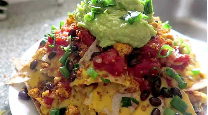 Low Calorie Nachos  Vegan Nachos Low Fat Oil Free Gluten Free Very Vegan