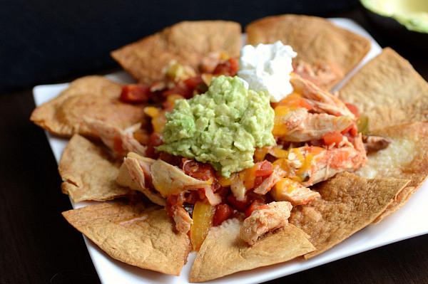 Low Calorie Nachos  2 Slow cooker meals under 250 calories