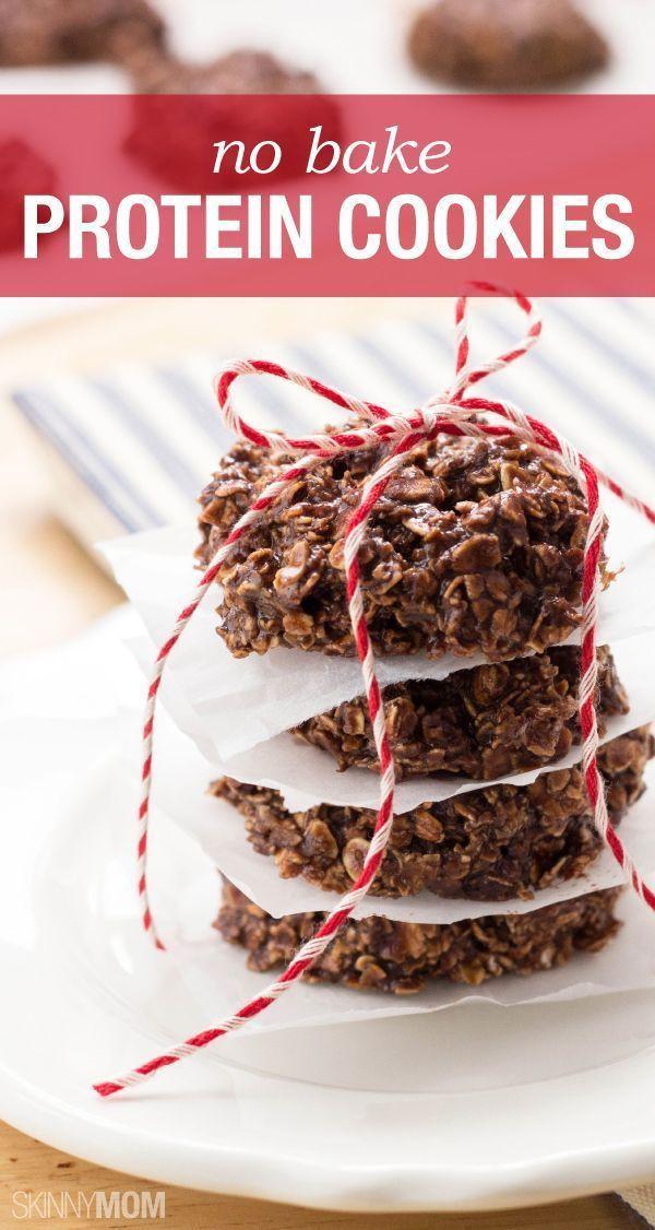 Low Calorie No Bake Cookies  Recipe No Bake Chocolate Protein Cookies