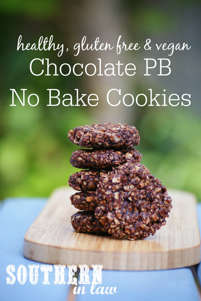 Low Calorie No Bake Cookies  Southern In Law Recipe Healthy No Bake Chocolate PB Cookies