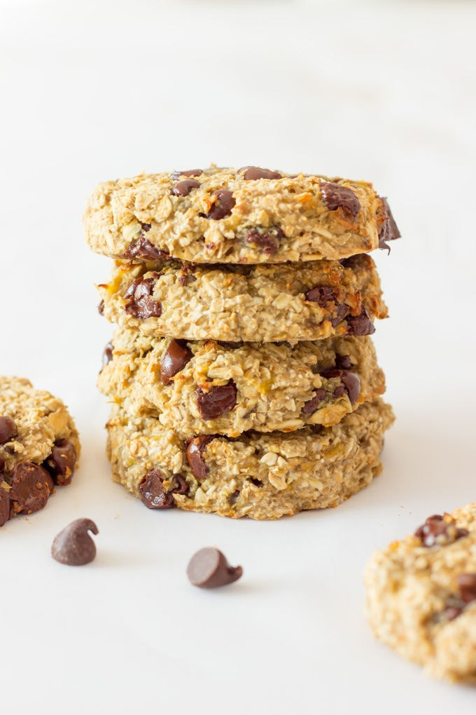 Low Calorie Oatmeal Cookies  3 Ingre nt Banana Oatmeal Cookies e Clever Chef