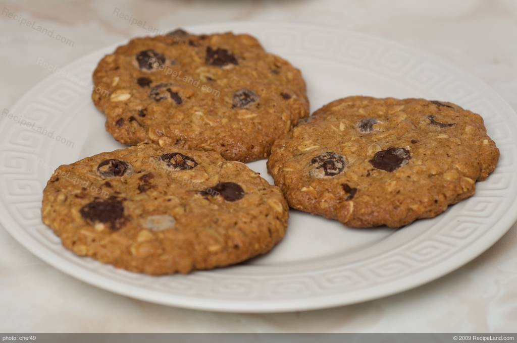 Low Calorie Oatmeal Cookies  Low Fat and Low Calorie Oatmeal Chocolate Chip Cookies Recipe