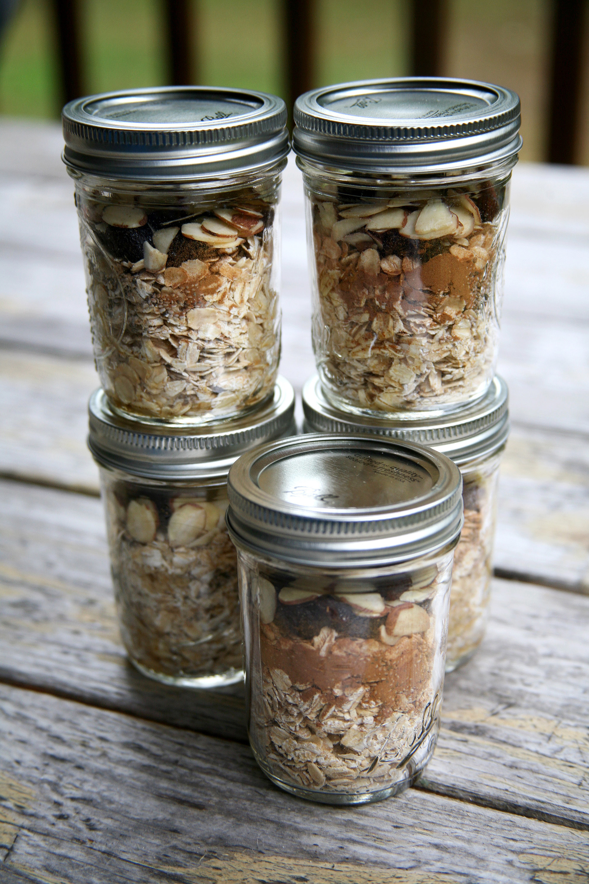 Low Calorie Overnight Oats  Prep Breakfast For a Week of Overnight Oats