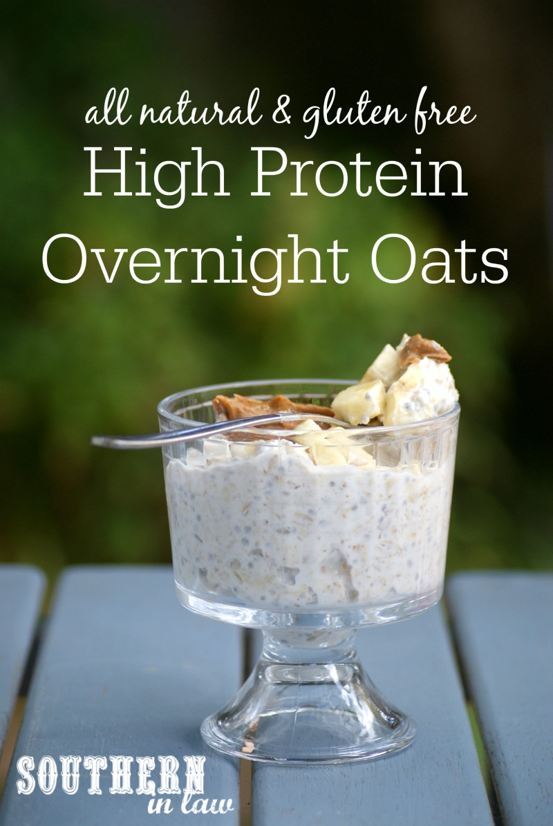 Low Calorie Overnight Oats  Southern In Law Recipe My Favourite Protein Packed