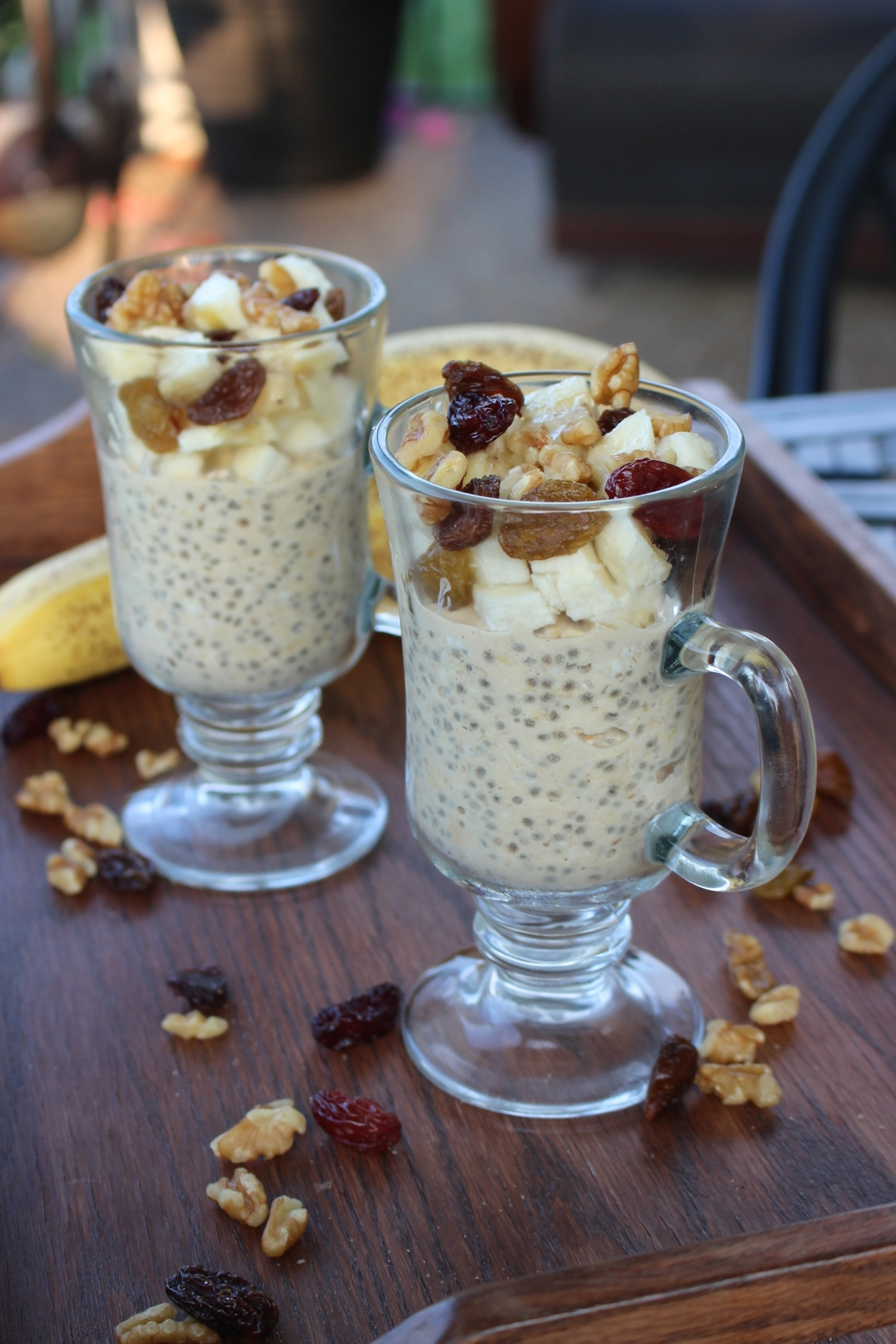 Low Calorie Overnight Oats  Low Fat Vegan Peanut Butter Overnight Oats