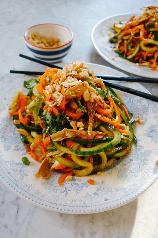 Low Calorie Pad Thai  12 Exquisite Low Carb Thai Recipes