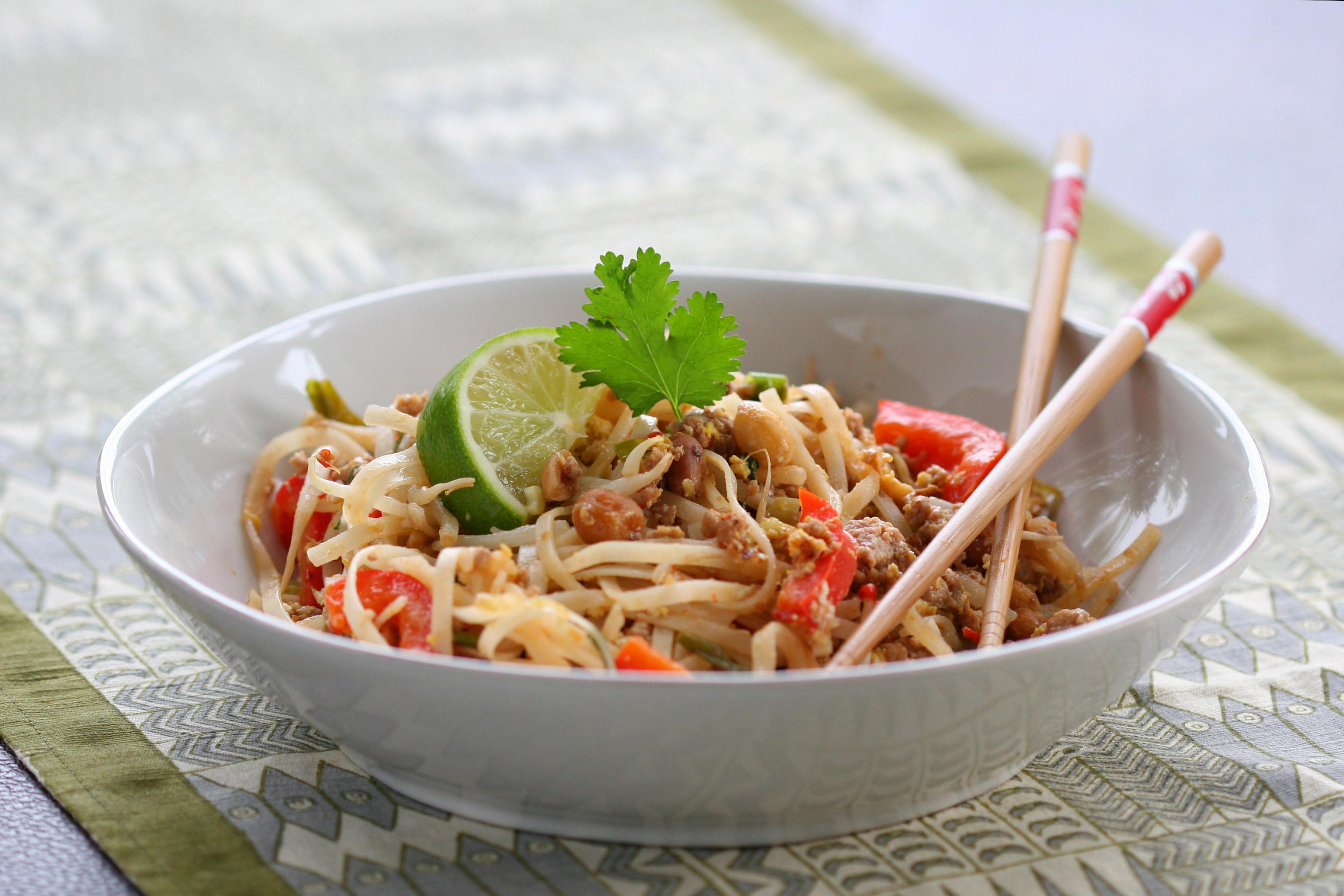 Low Calorie Pad Thai  Low er Fat Pad Thai BigOven