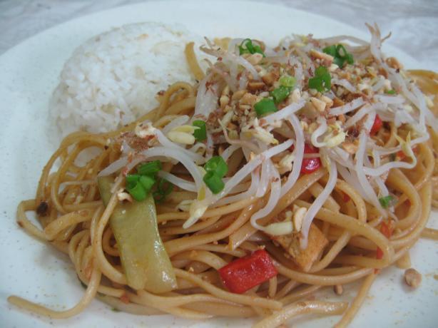 Low Calorie Pad Thai  Low Fat Low Cal Vegan Pad Thai Recipe Food
