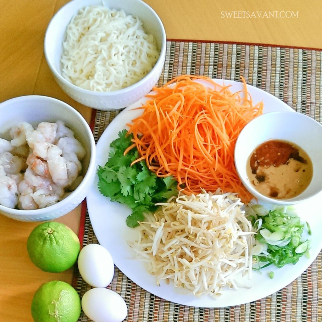 Low Calorie Pad Thai  Skinny Shrimp Pad Thai Low Calorie Low Carb Gluten FREE