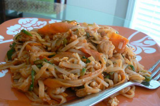 Low Calorie Pad Thai  Chicken Pad Thai Recipe
