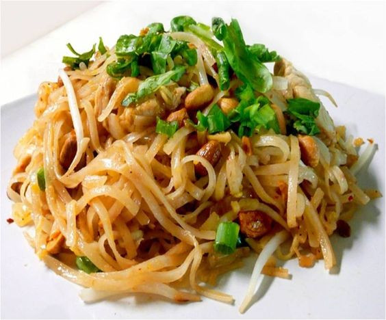 Low Calorie Pad Thai  Miracle noodles Pad thai recipes and Thai recipes on