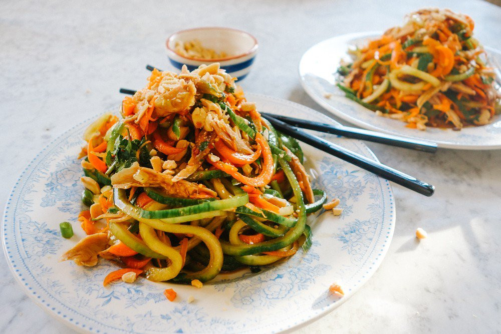Low Calorie Pad Thai  duck pad thai calories