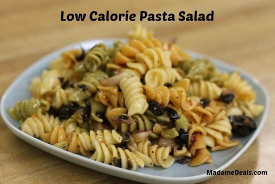 Low Calorie Pasta Salad Recipes  Low Calorie Pasta Salad Real Advice Gal