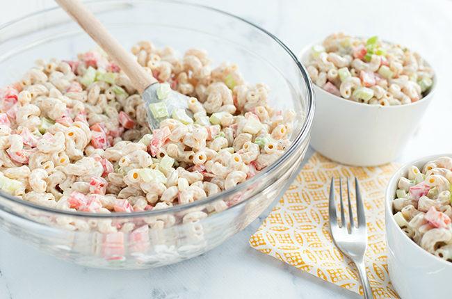 Low Calorie Pasta Salad Recipes  Recipe Low Fat Skinny Macaroni Salad