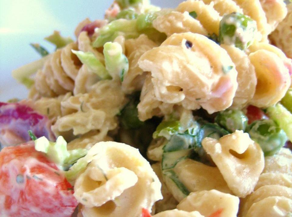 Low Calorie Pasta Salad Recipes  Creamy Low Fat Pasta Salad Recipe