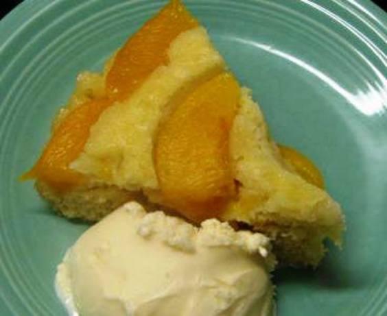 Low Calorie Peach Recipes  Low Fat Peach Upside Down Cake Recipe Food