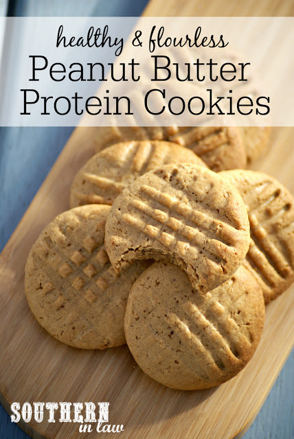 Low Calorie Peanut Butter Cookies Recipe  Southern In Law Recipe Healthy Peanut Butter Protein Cookies