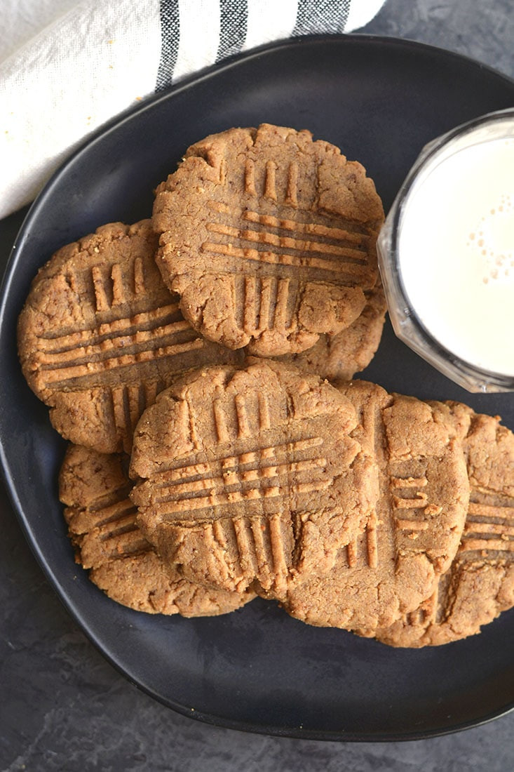 Low Calorie Peanut Butter Cookies Recipe  Low Carb Peanut Butter Cookies Low Calorie GF Skinny