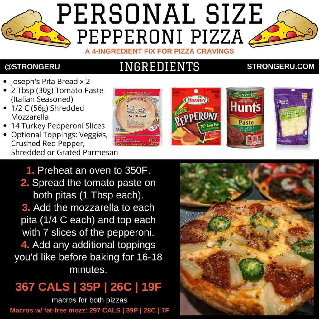 Low Calorie Pizza Sauce  6 Low Calorie Pizza Recipes Quick and Easy Personal Pizzas
