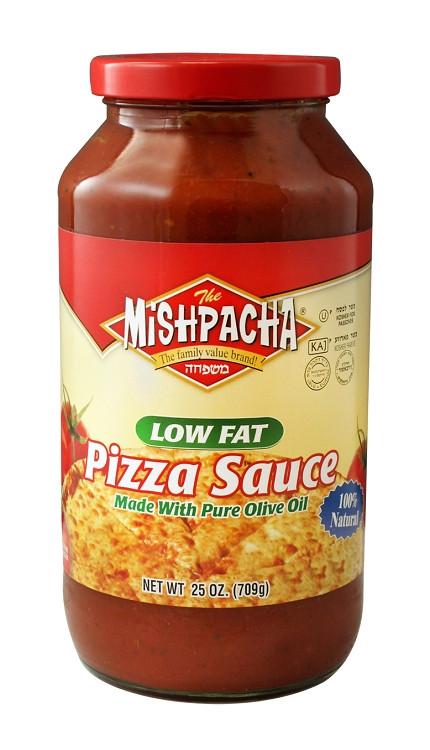 Low Calorie Pizza Sauce  Mishpacha Low Fat Pizza Sauce 25 oz Case of 12
