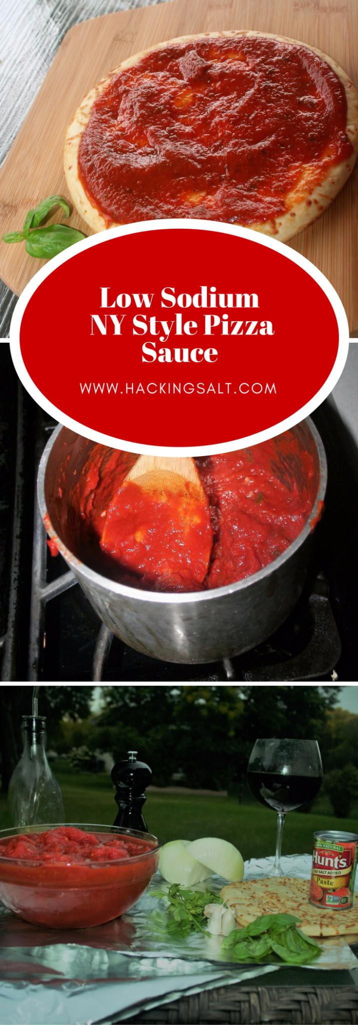 Low Calorie Pizza Sauce  The Best Low Sodium Pizza Sauce Hacking Salt