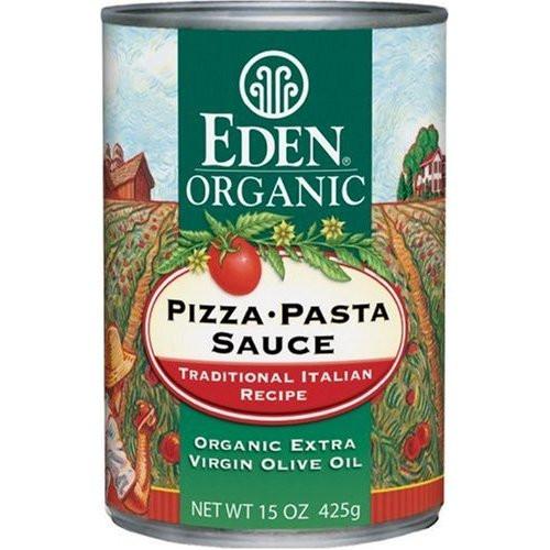 Low Calorie Pizza Sauce  Eden Organic Pizza Pasta Sauce