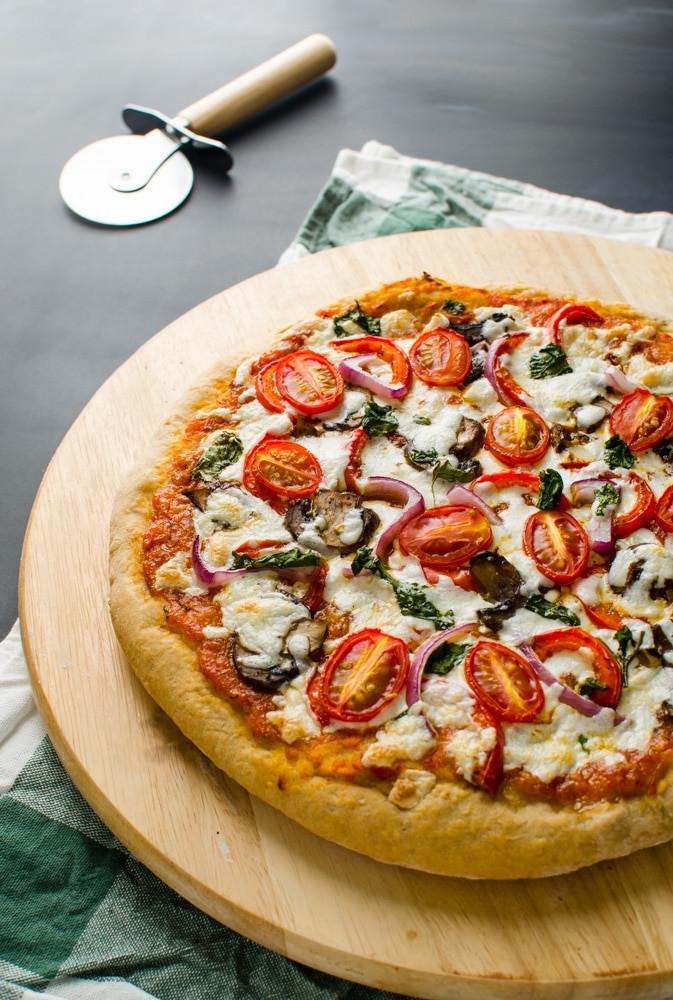 Low Calorie Pizza Sauce  Healthy Pizza Recipe Indian Italian Fusion