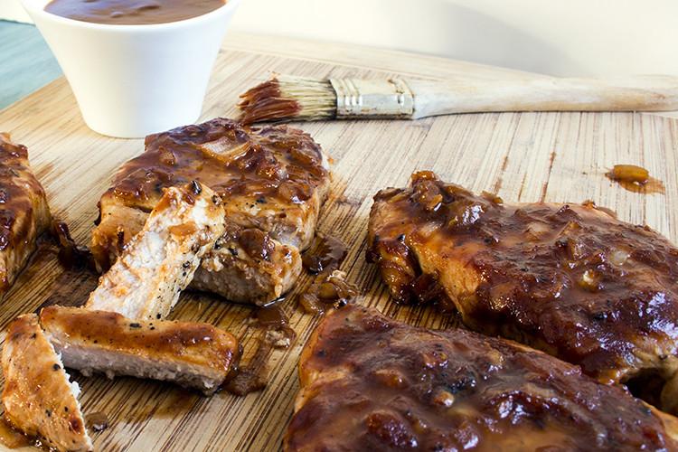 Low Calorie Pork Chop Recipes  Recipe Skinny Baked BBQ Pork Chops Skinny Mom