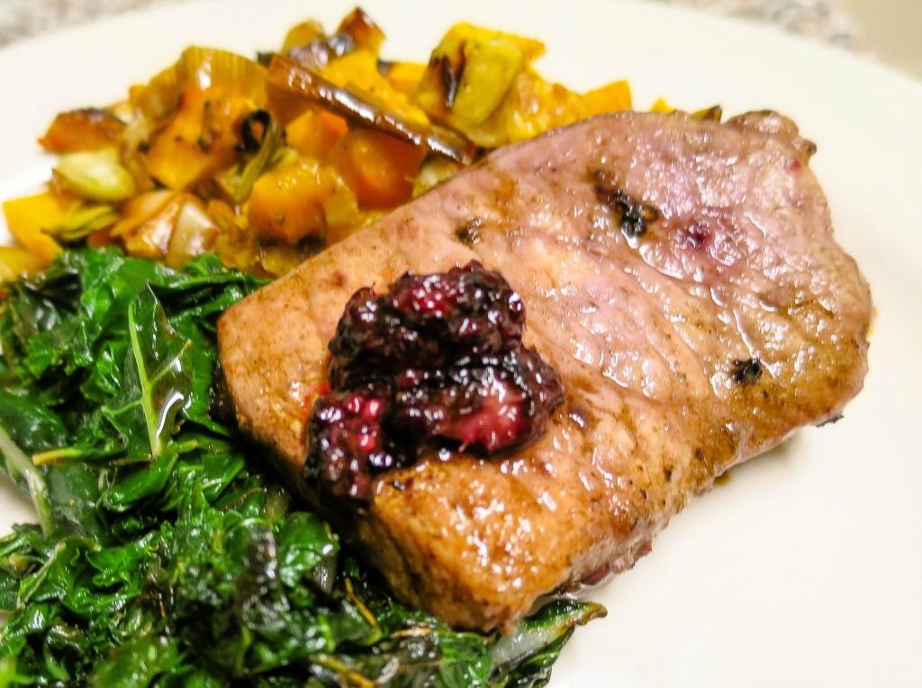 Low Calorie Pork Chop Recipes  Recipe Blackberry Pork Chops