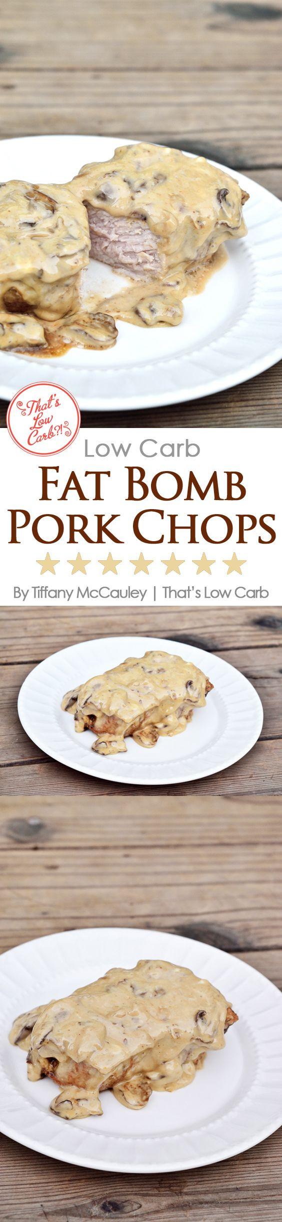 Low Calorie Pork Recipes  Low Carb Fat Bomb Pork Chops Recipe – KetosisDiet