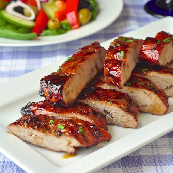 Low Calorie Pork Recipes  Low Fat Honey Garlic Boneless Ribs quick and easy too