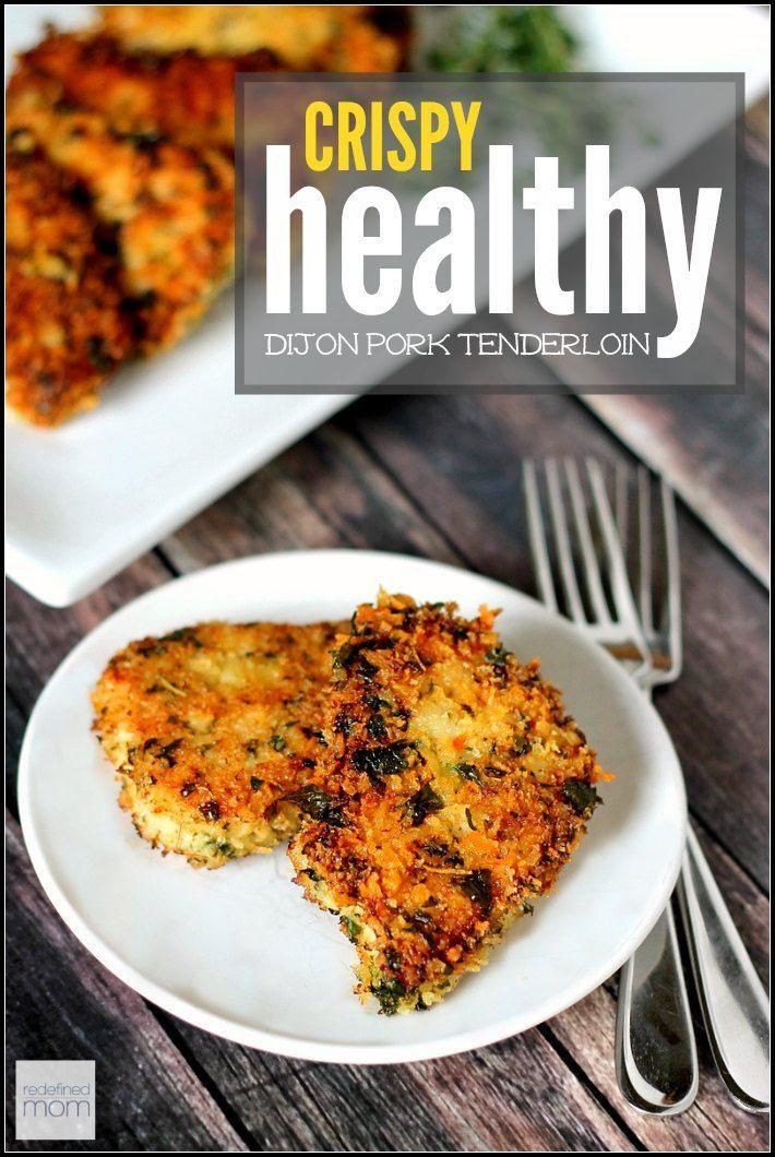 Low Calorie Pork Tenderloin Recipes  Healthy Recipes This low calorie Healthy Crispy Dijon