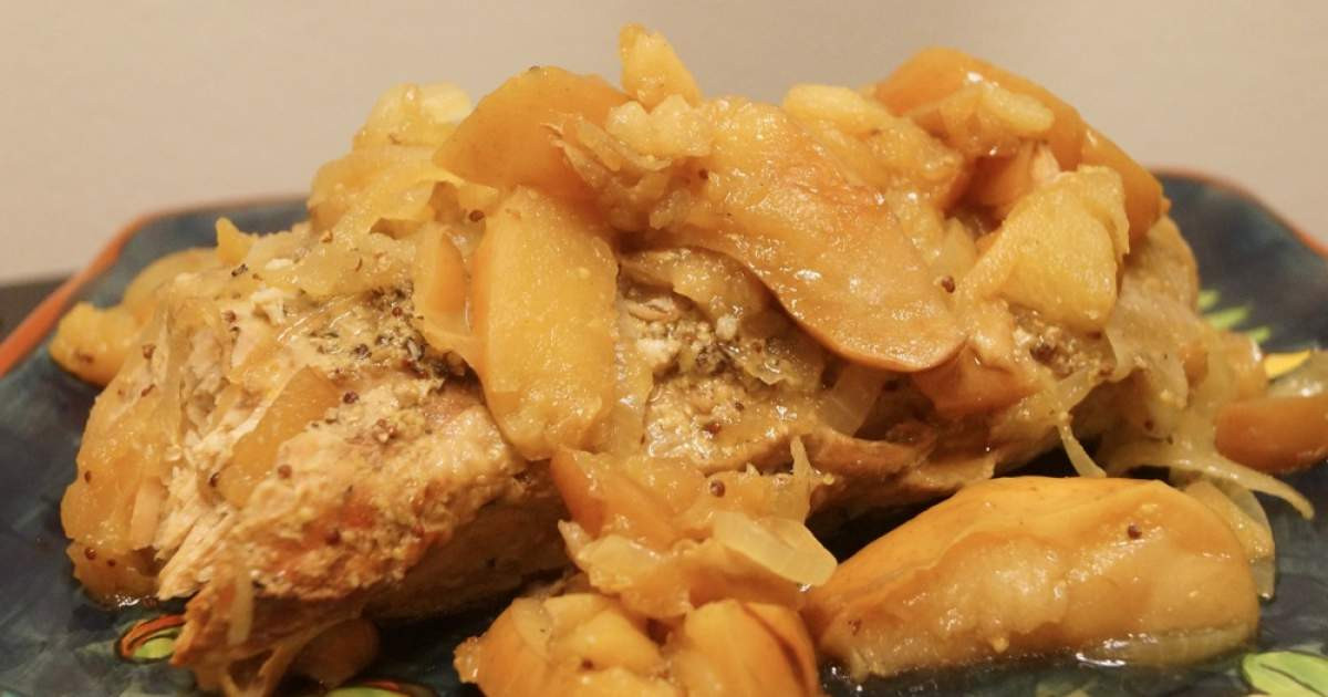 Low Calorie Pork Tenderloin Recipes  Low Carb Slow Cooker Pork Tenderloin and Apples Slender