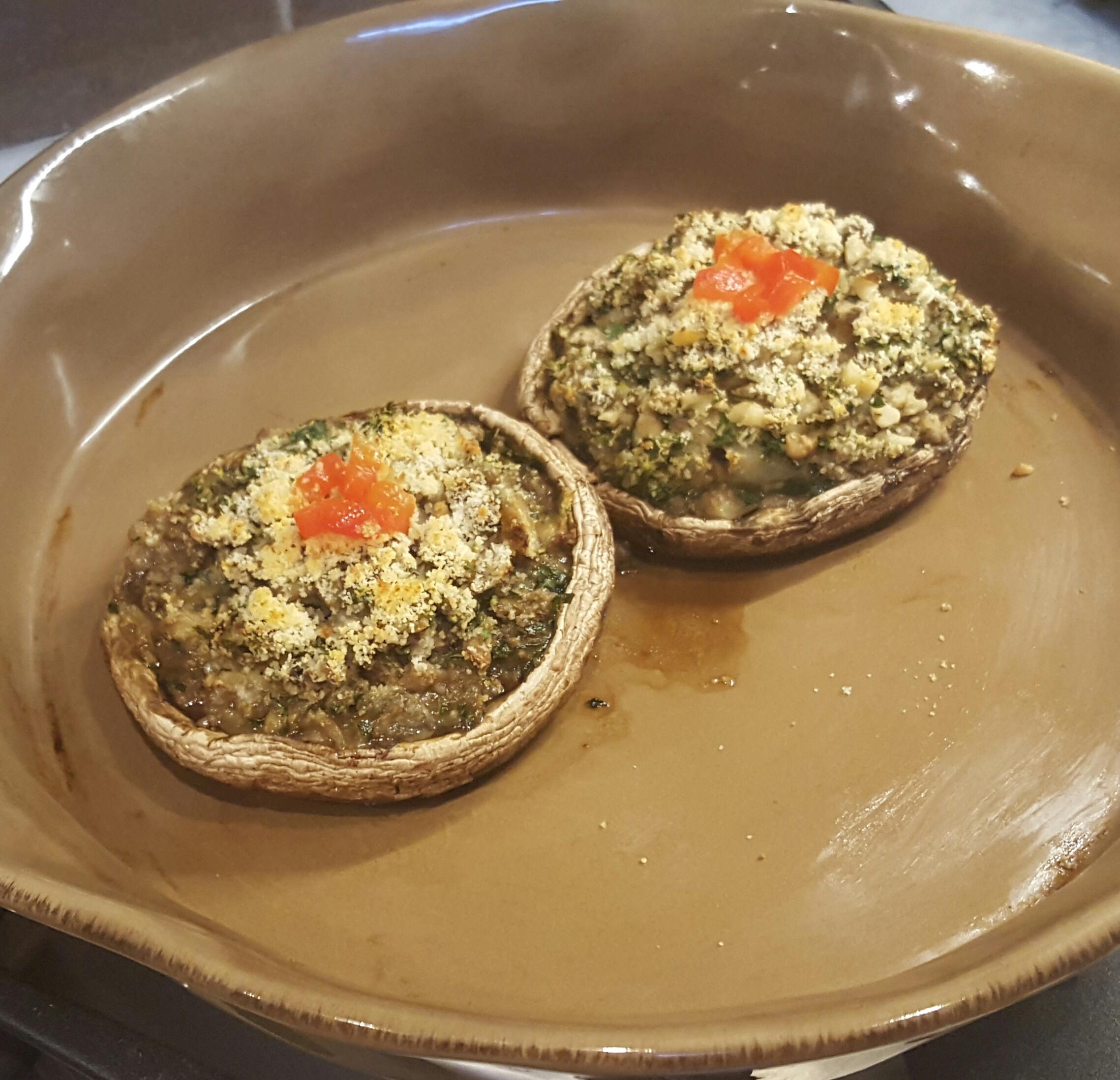 Low Calorie Portobello Mushroom Recipes  Low Calorie Stuffed Portobello Mushrooms