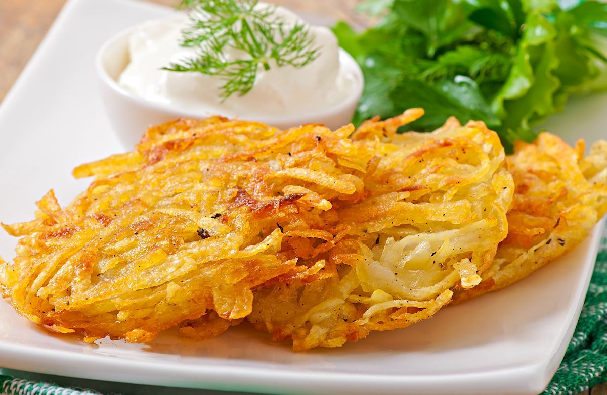 Low Calorie Potato Recipes  Low Fat Potato Latkes Recipe