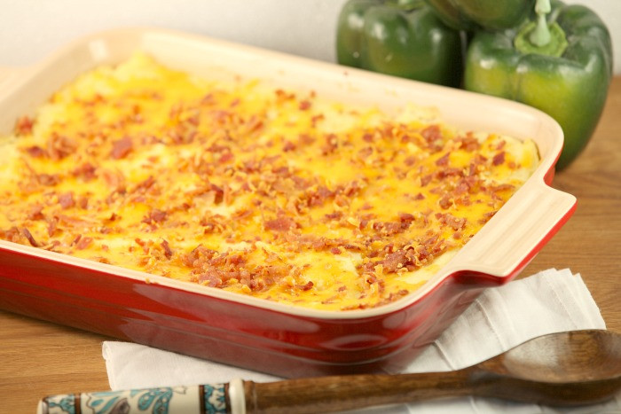 Low Calorie Potato Recipes  Healthy Low Calorie Loaded Mashed Potato Casserole