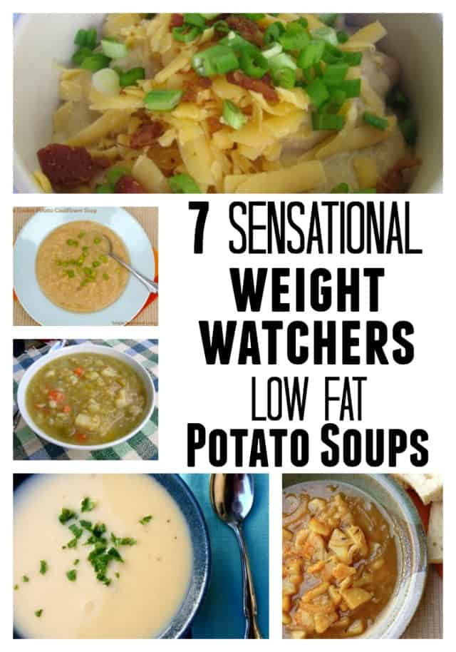 Low Calorie Potato Recipes  Weight Watchers Recipes Potato Soups with Low Points Plus