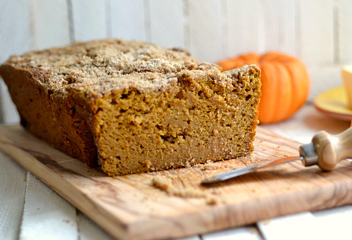 Low Calorie Pumpkin Bread  Whole Wheat Pumpkin Coffee Cake Bread